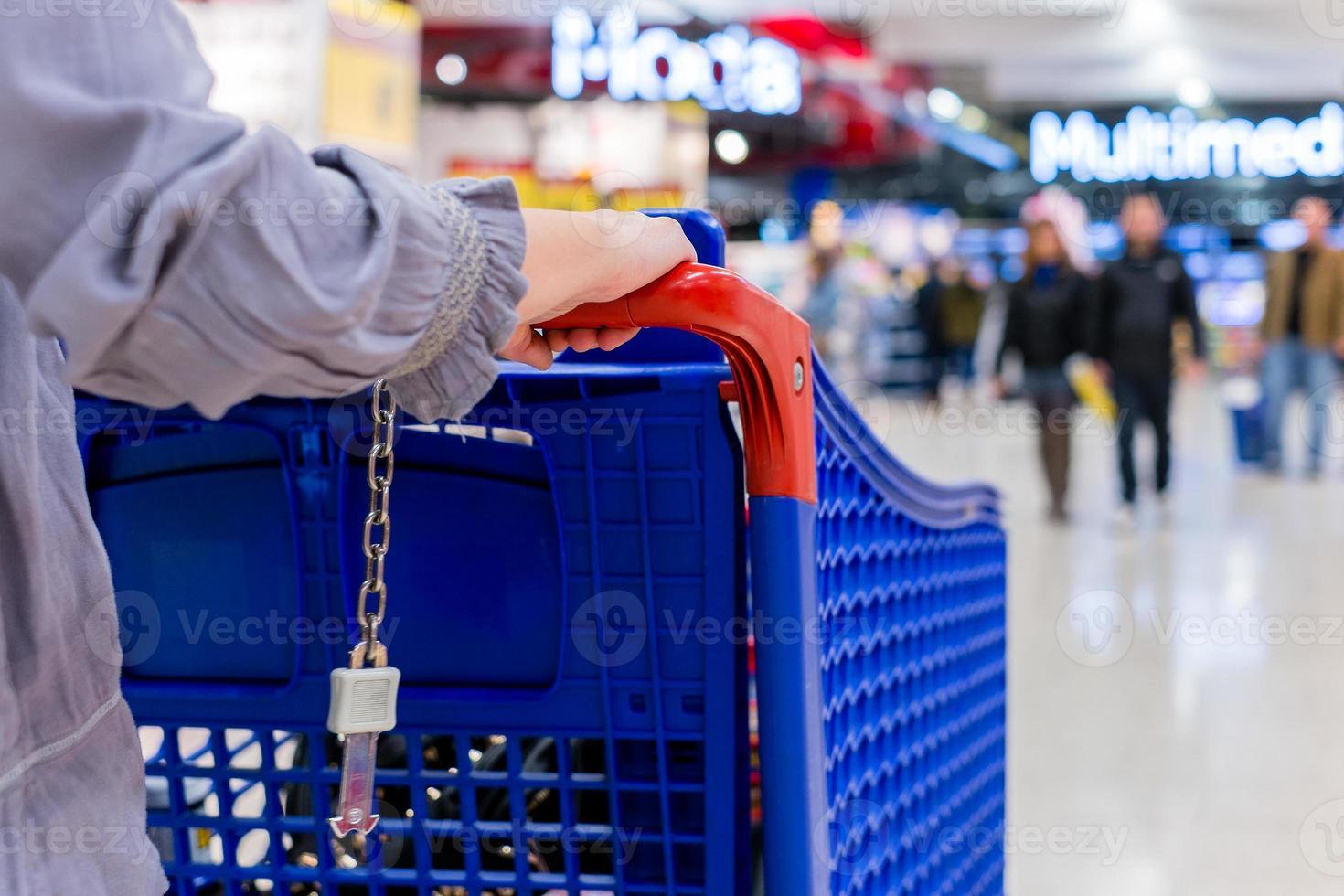 Einkaufswagen foto