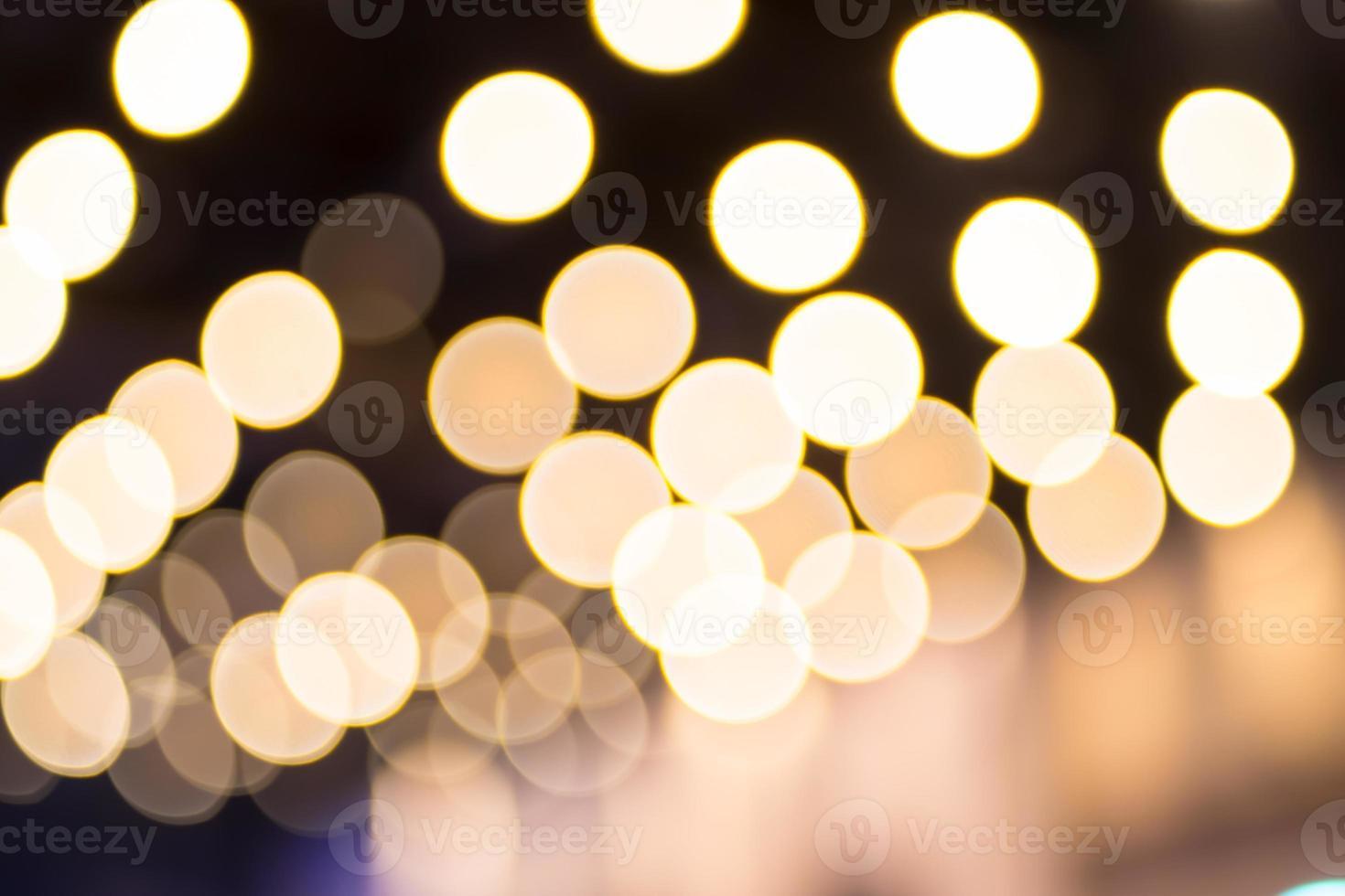 unscharfer Hintergrund: abstrakte Cricle Bokeh Beleuchtung, Textur Backgr foto