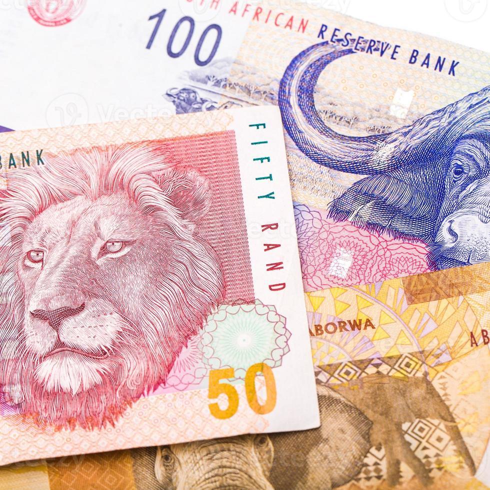 20 50 100 südafrikanische währung der rand foto