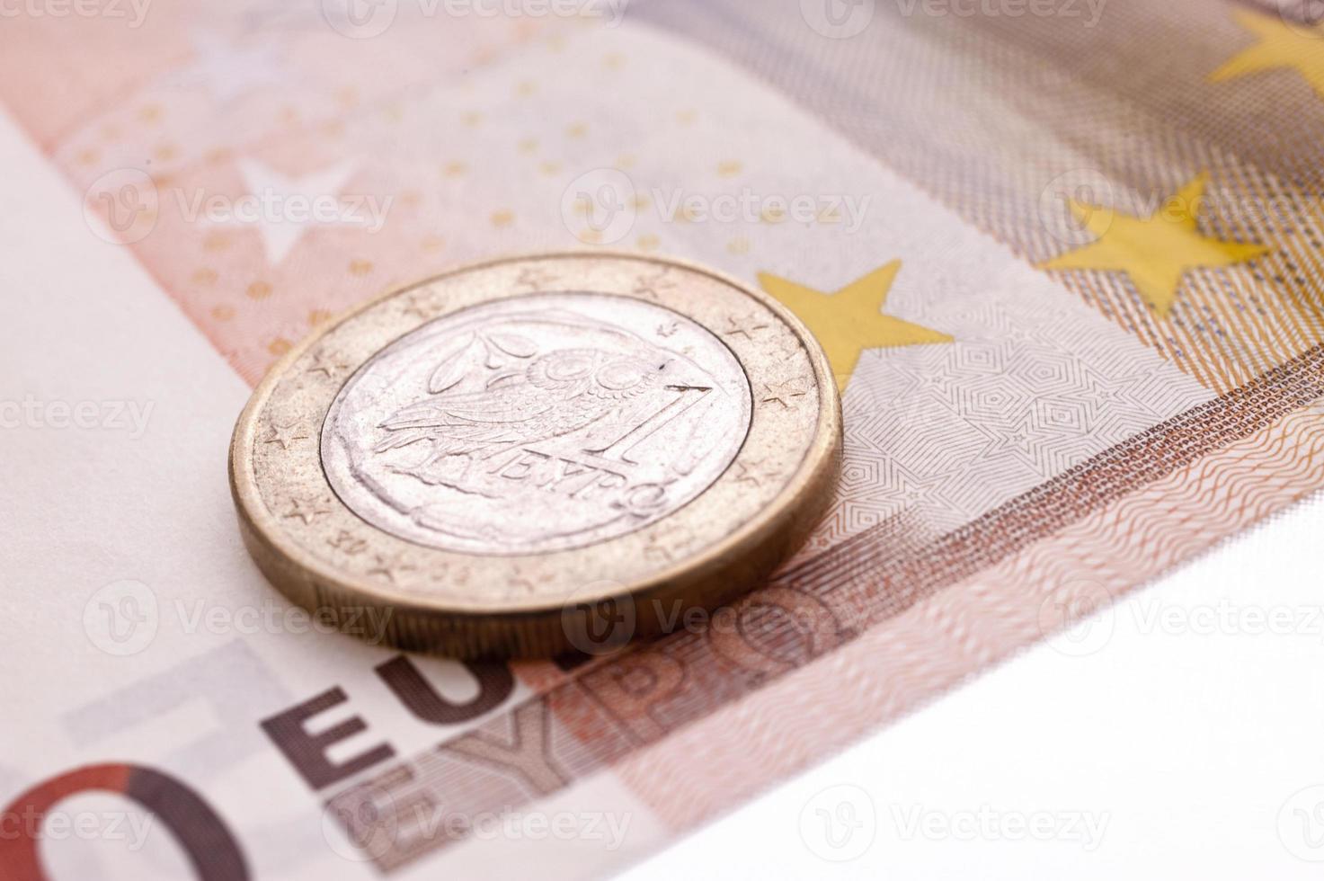 griechische Euro-Münze foto