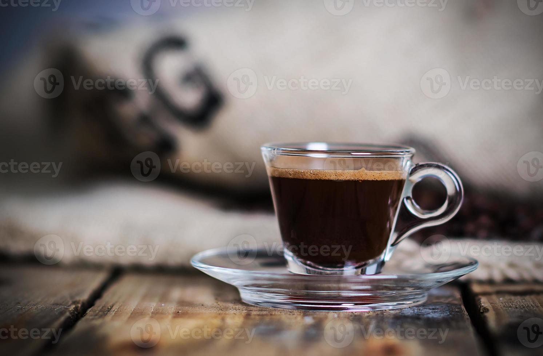 heißer Espresso foto