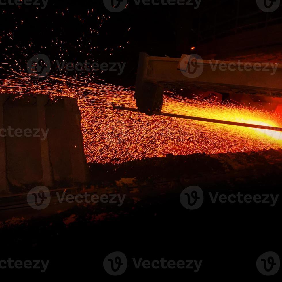 metallurgische Produktion foto