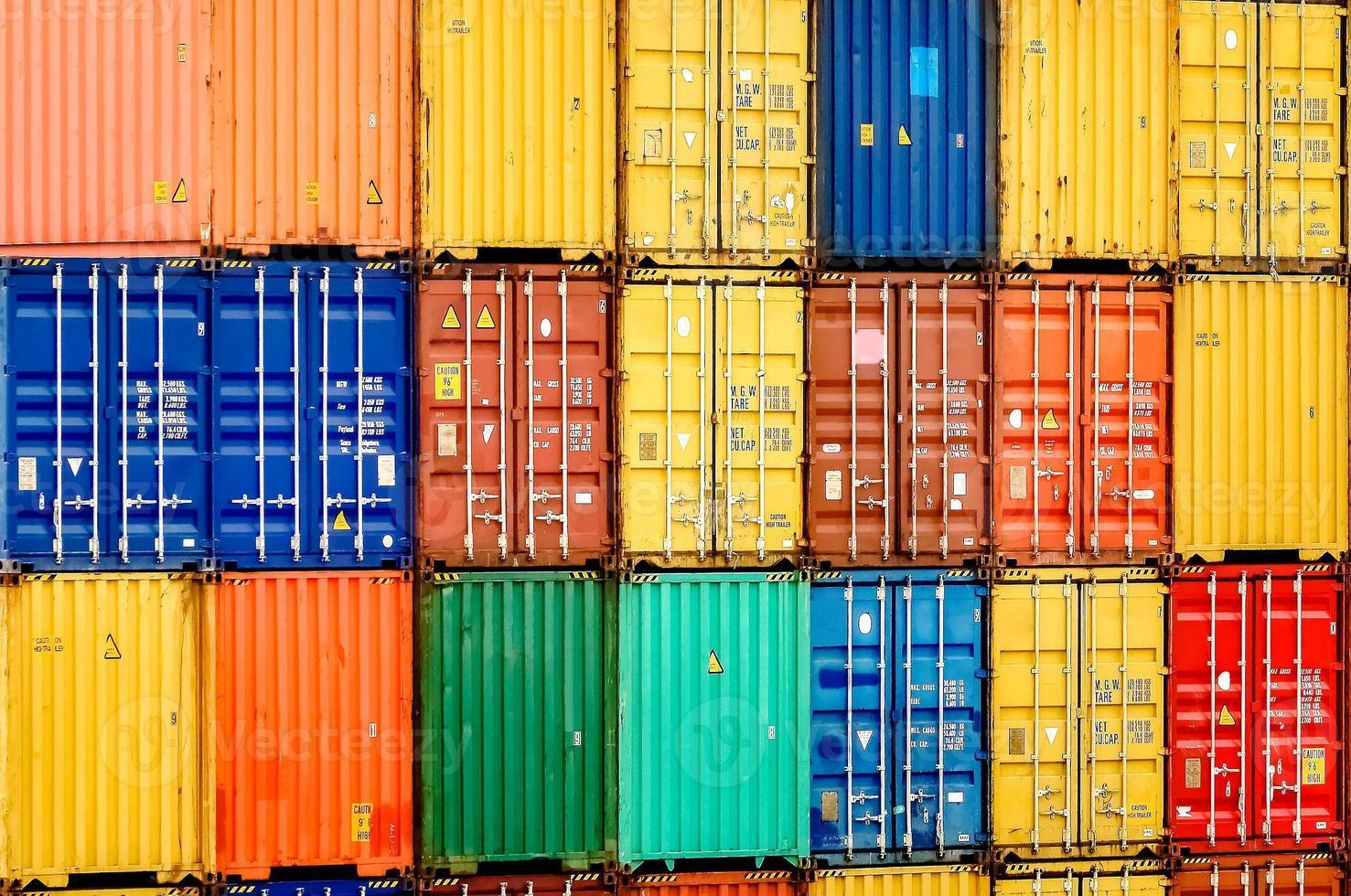 Frachtcontainer foto