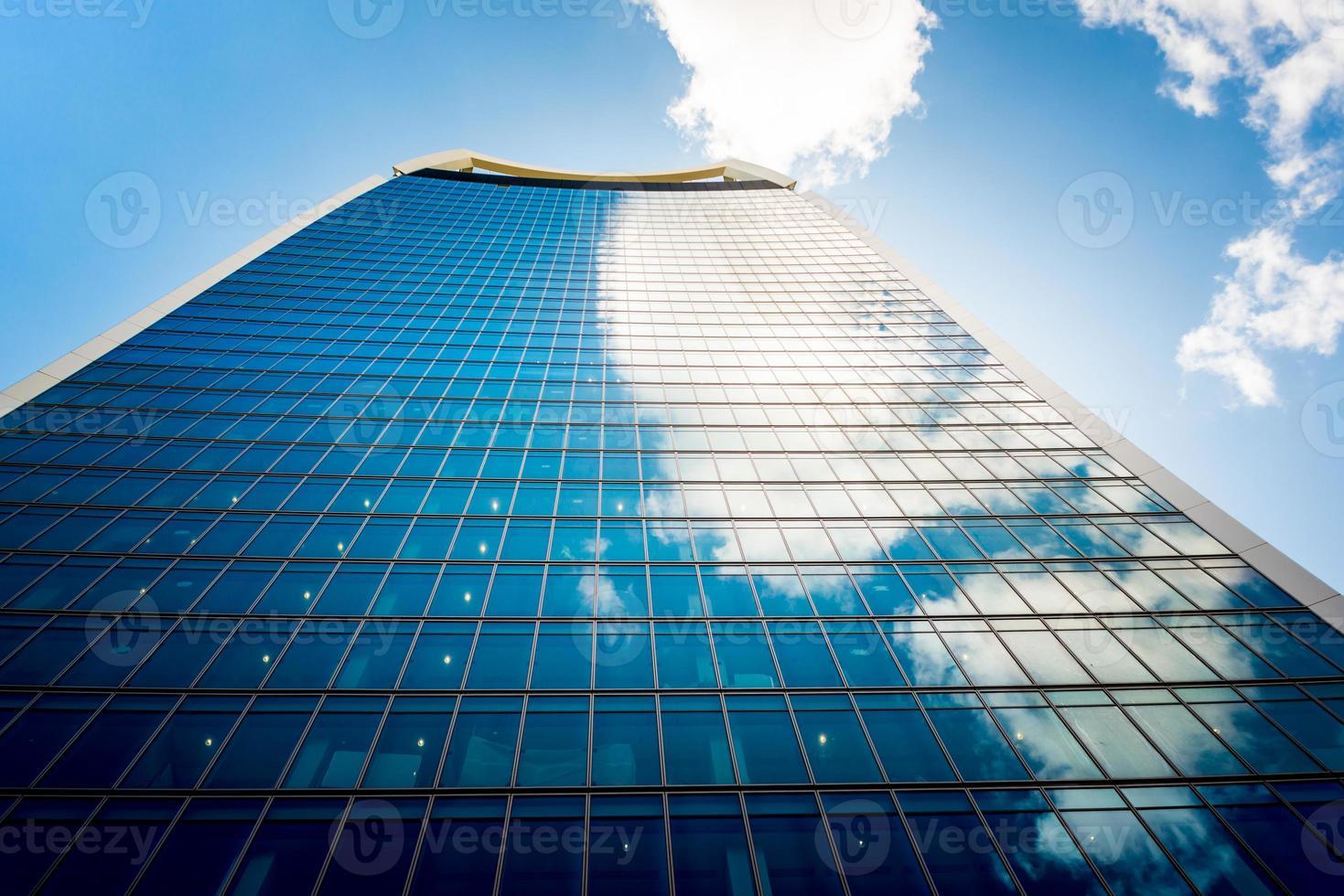 Wolkenkratzer in der Stadt London. foto