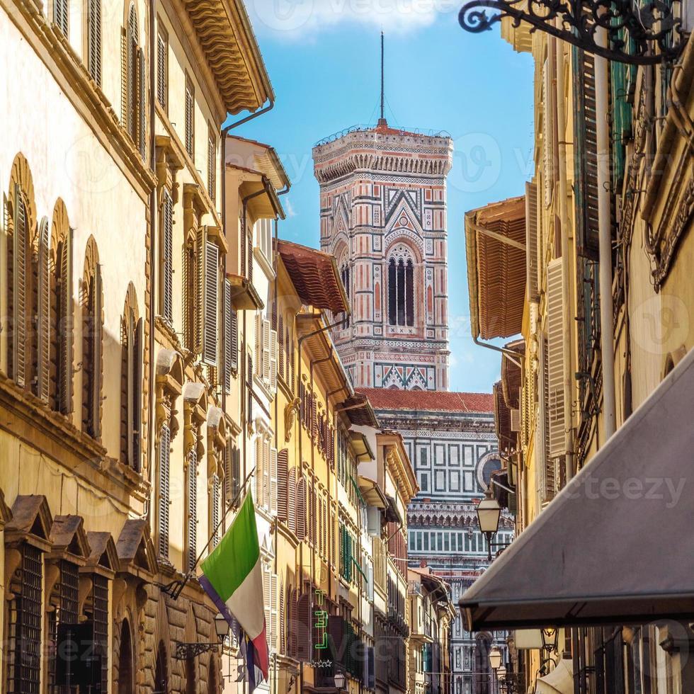 Straße von Florenz, Toskana, Italien foto