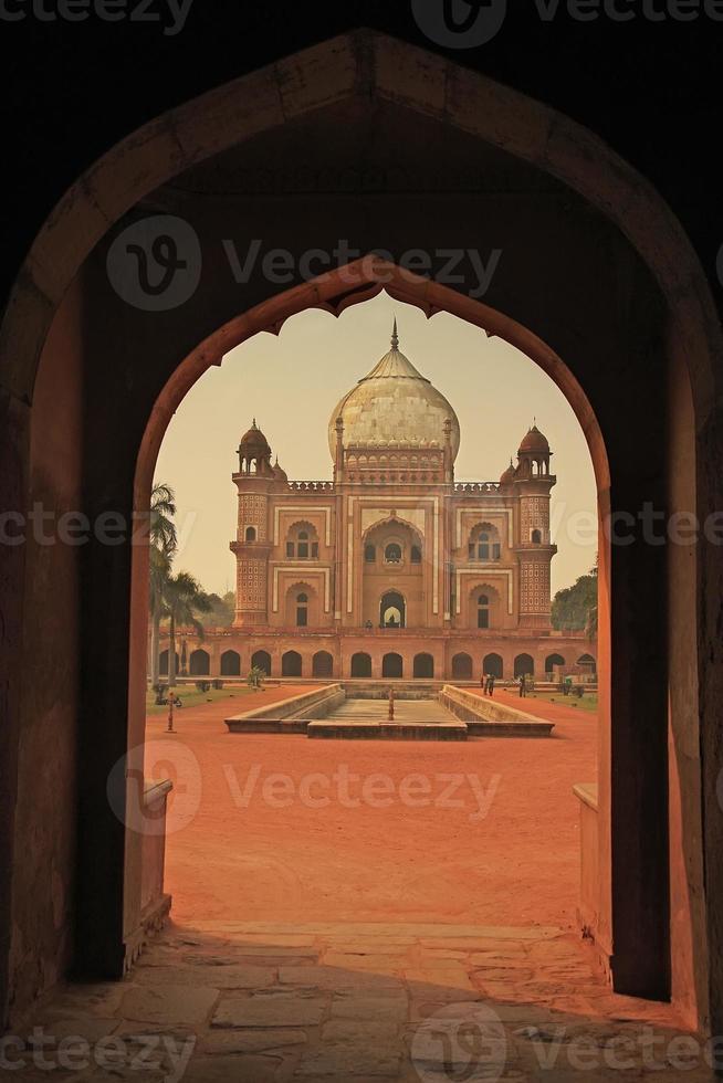 Grab von Safdarjung, Neu-Delhi, Indien foto