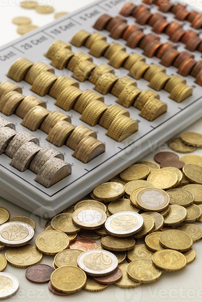 Münzen der Europäischen Union foto