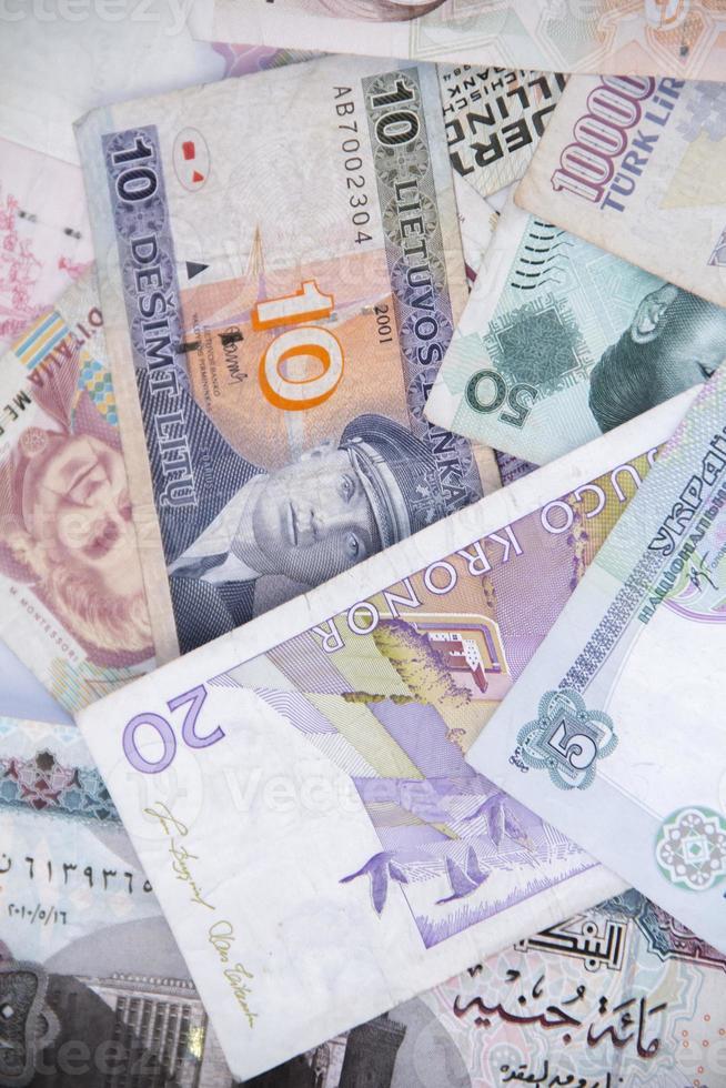 litauische Rechnung foto