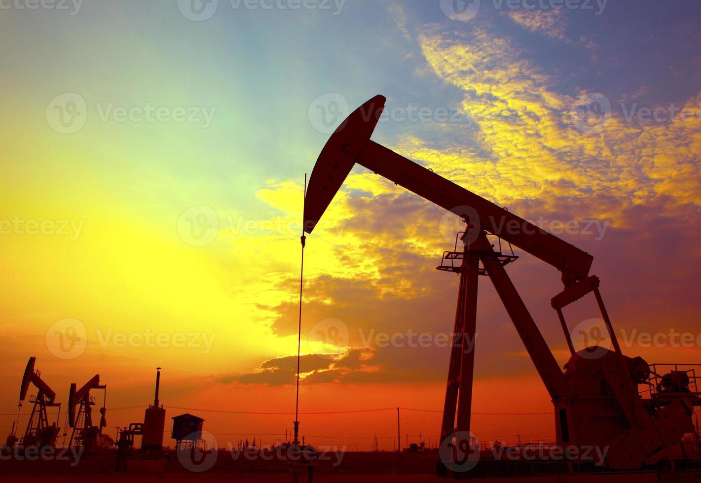 Ölpumpen foto