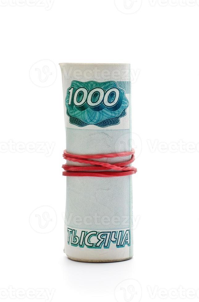 Banknoten von Russland foto