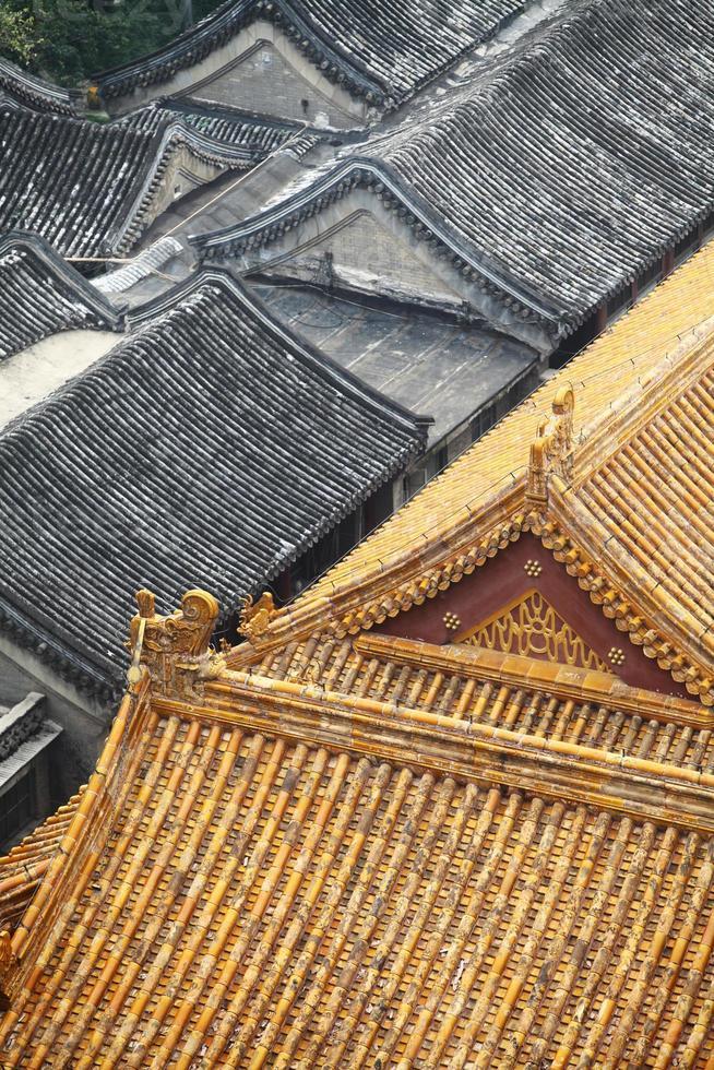 chinesische Dächer foto