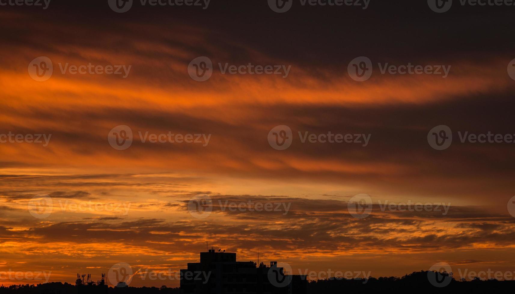 Sonnenaufgang Sorocaba Brasilien foto