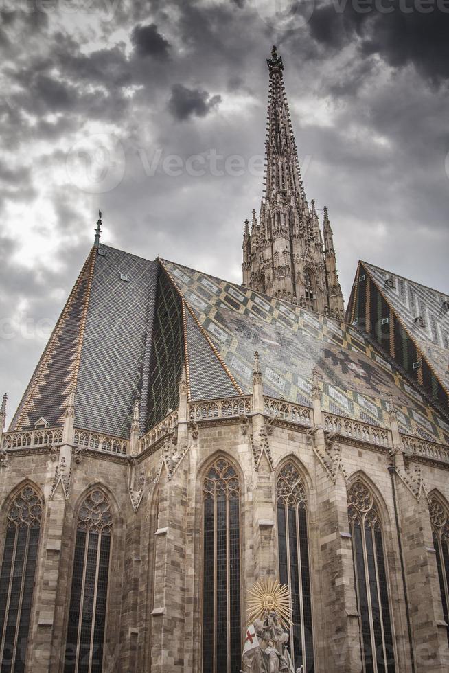 st. Stephens Kathedrale. Wien, Österreich foto