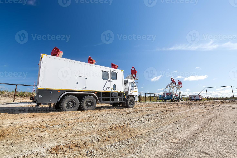 Öl- und Gasförderung foto