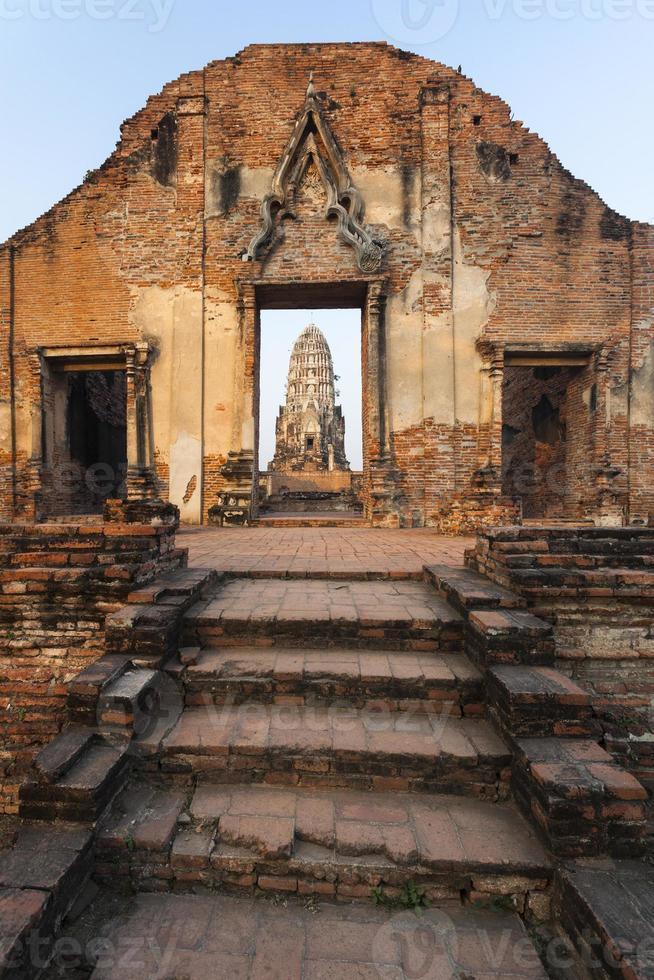 Eingang von Wat Rat Praditthan foto