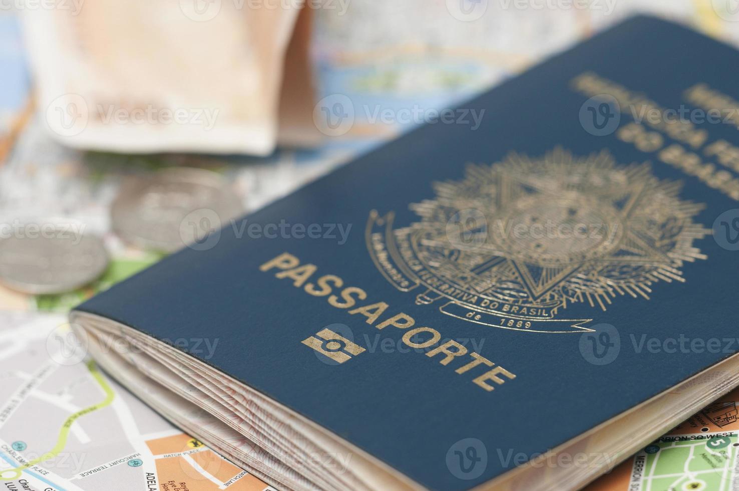 brasilianischer Pass foto