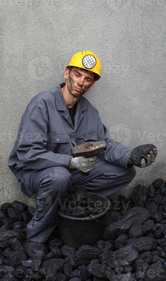 Minenarbeiter foto