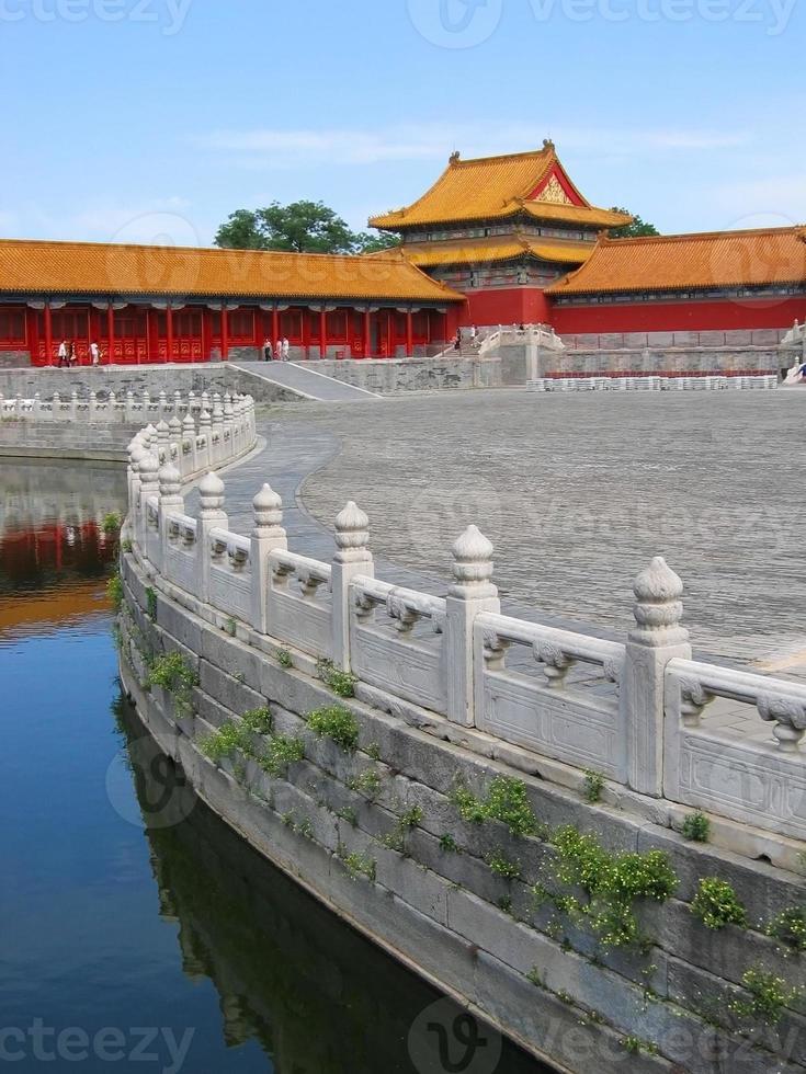 Verbotene Stadt, Peking, China foto