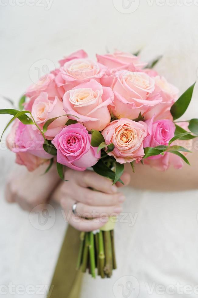 Hochzeitsblumenstrauß foto