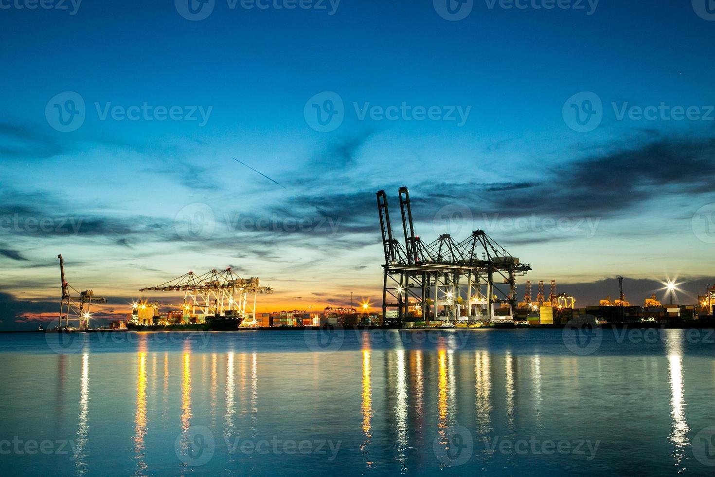 Hafencontainerterminal foto