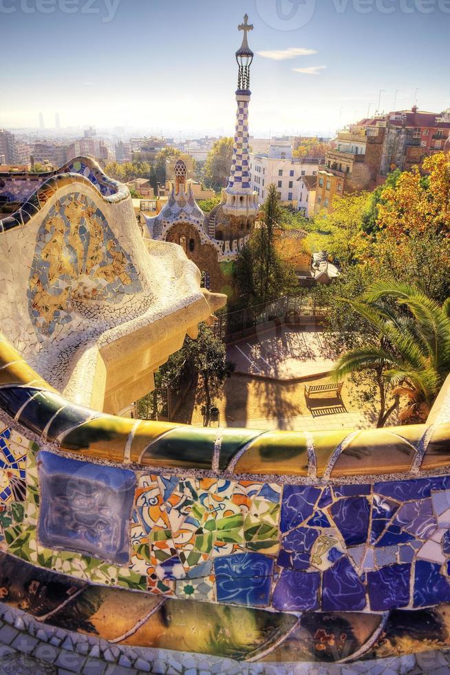 barcelona city - Aufnahmen von Spanien - Reise Europa foto