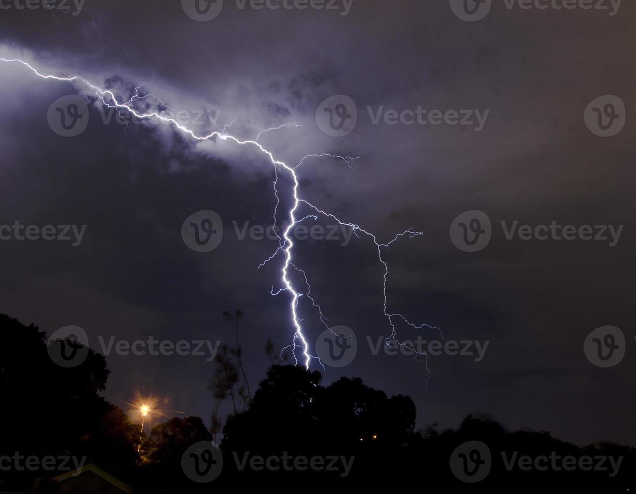 Blitzschlag foto
