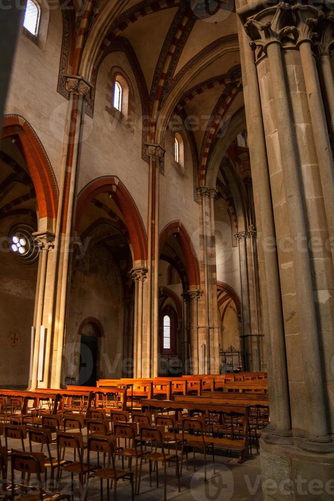 Basilika di Sant'andrea, Vercelli, Piemont, Italien foto