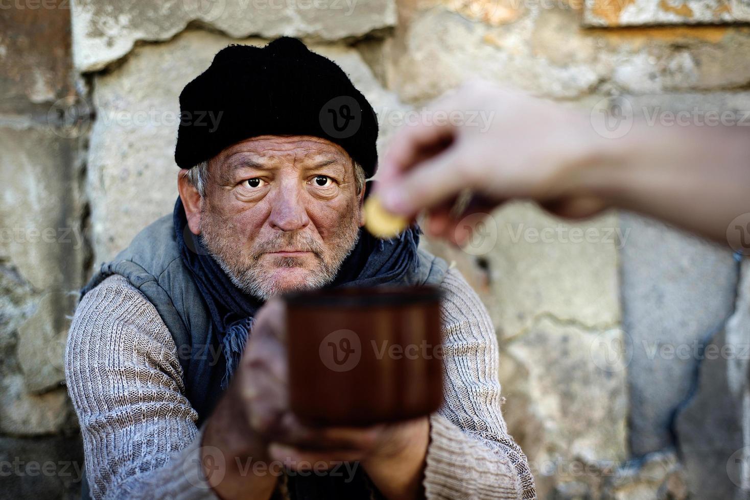 obdachlos foto