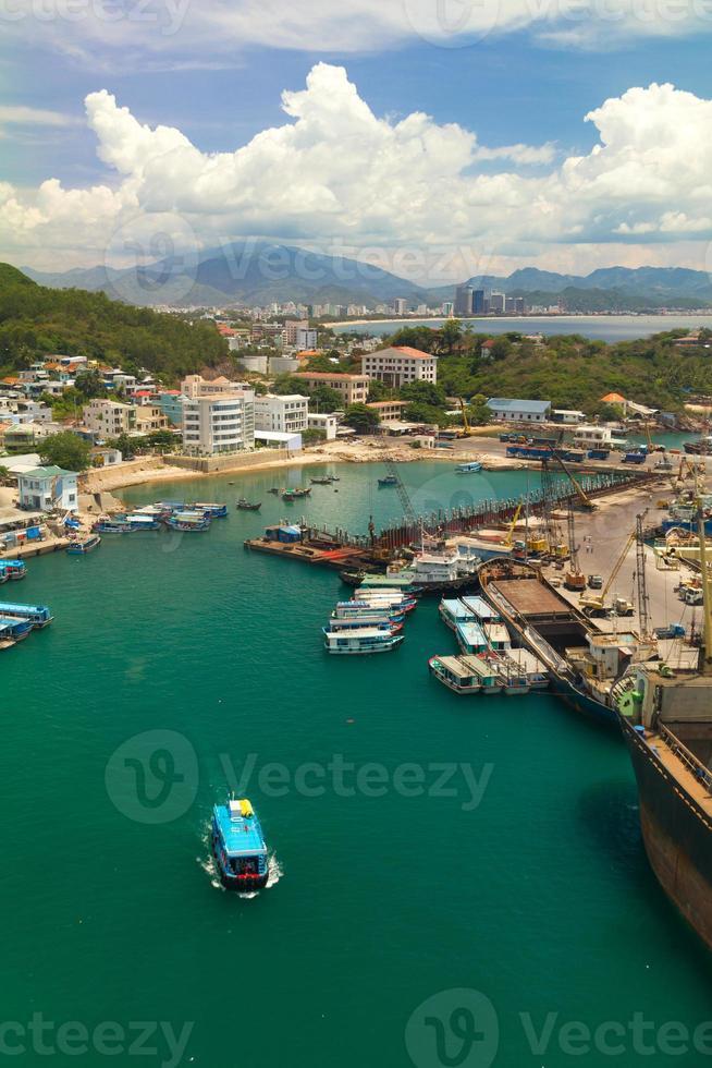 Hafen in Nha Trang foto