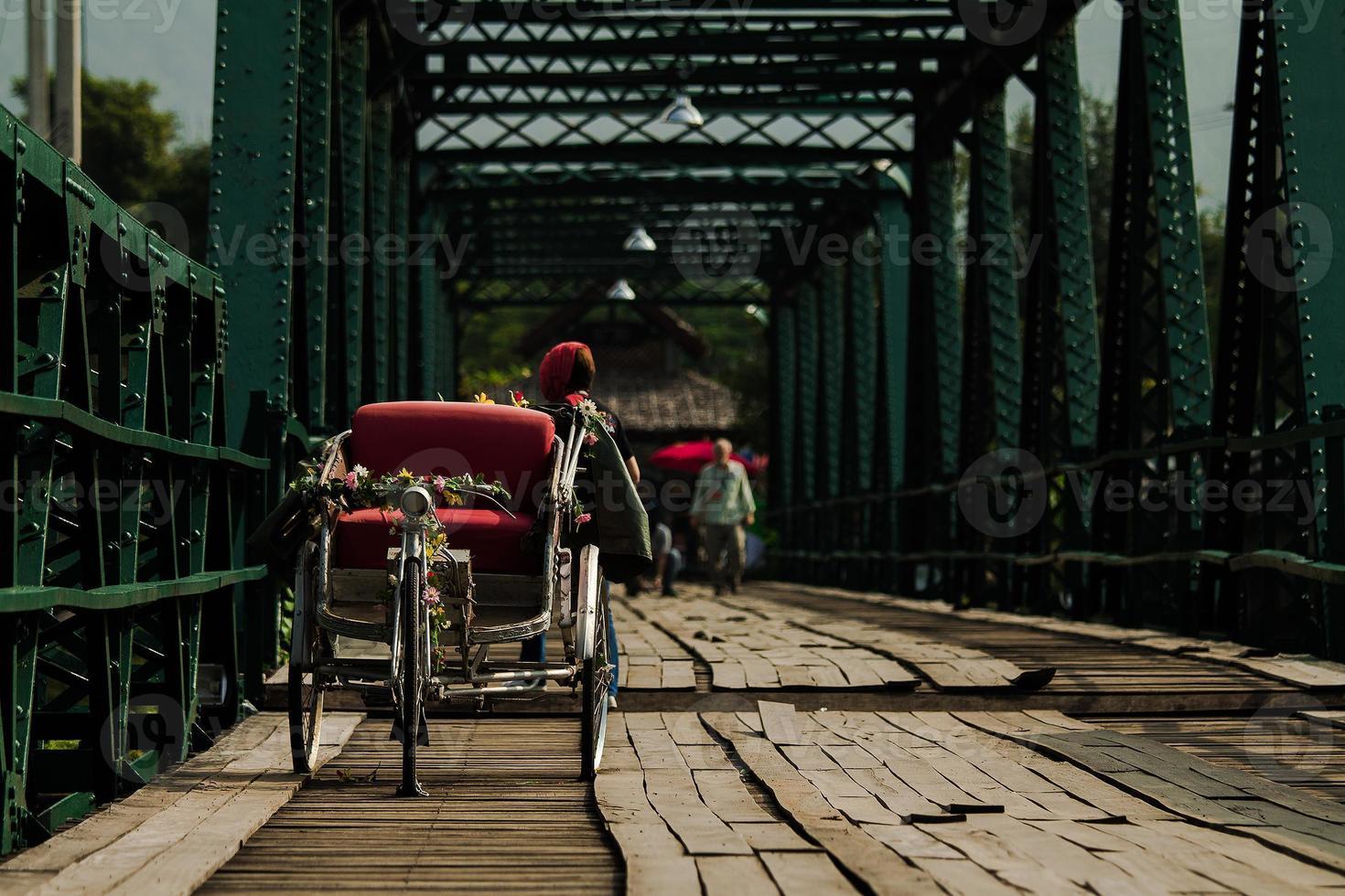 alte Holzbrücke foto