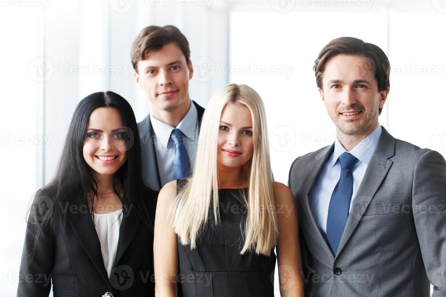 Porträt des Geschäftsteams foto
