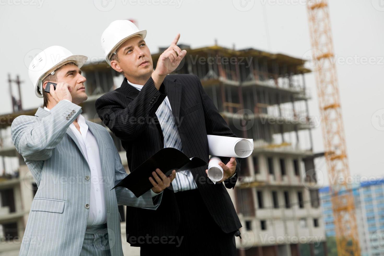 zeigt neues Gebäude foto