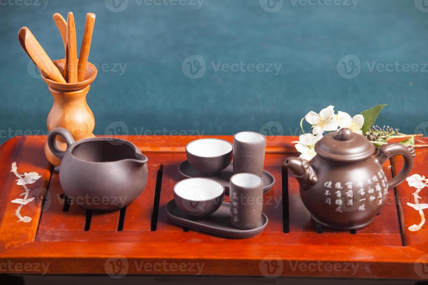 chinesische Teezeremonie foto