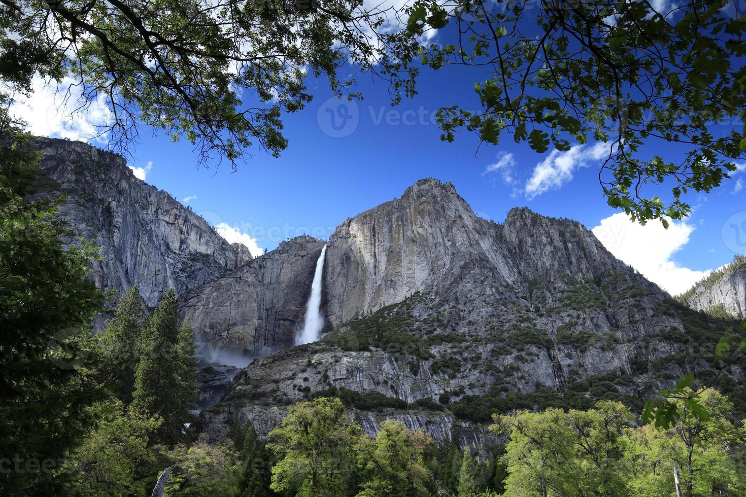 Wasserfall im Yosemite National Park, USA circa Mai 2010 foto