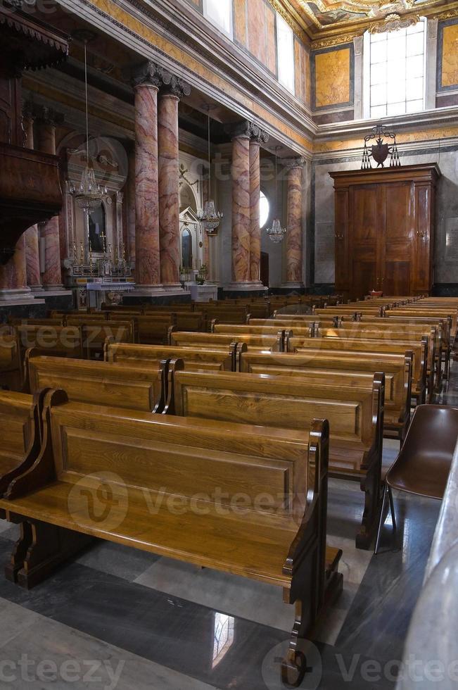 Kathedrale von st. nicola. castellaneta. Apulien. Italien. foto