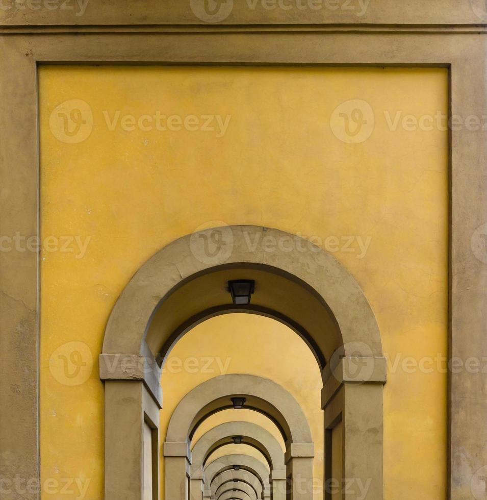 Bögen in Florenz foto