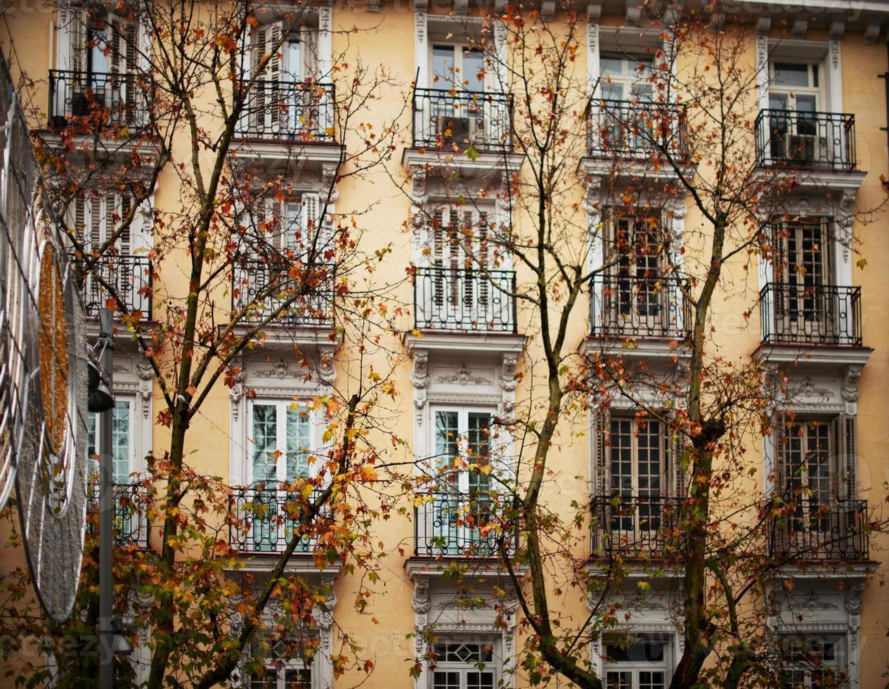 Fassadendetail foto