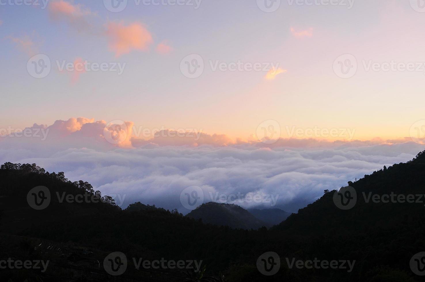 goldene Wolke foto