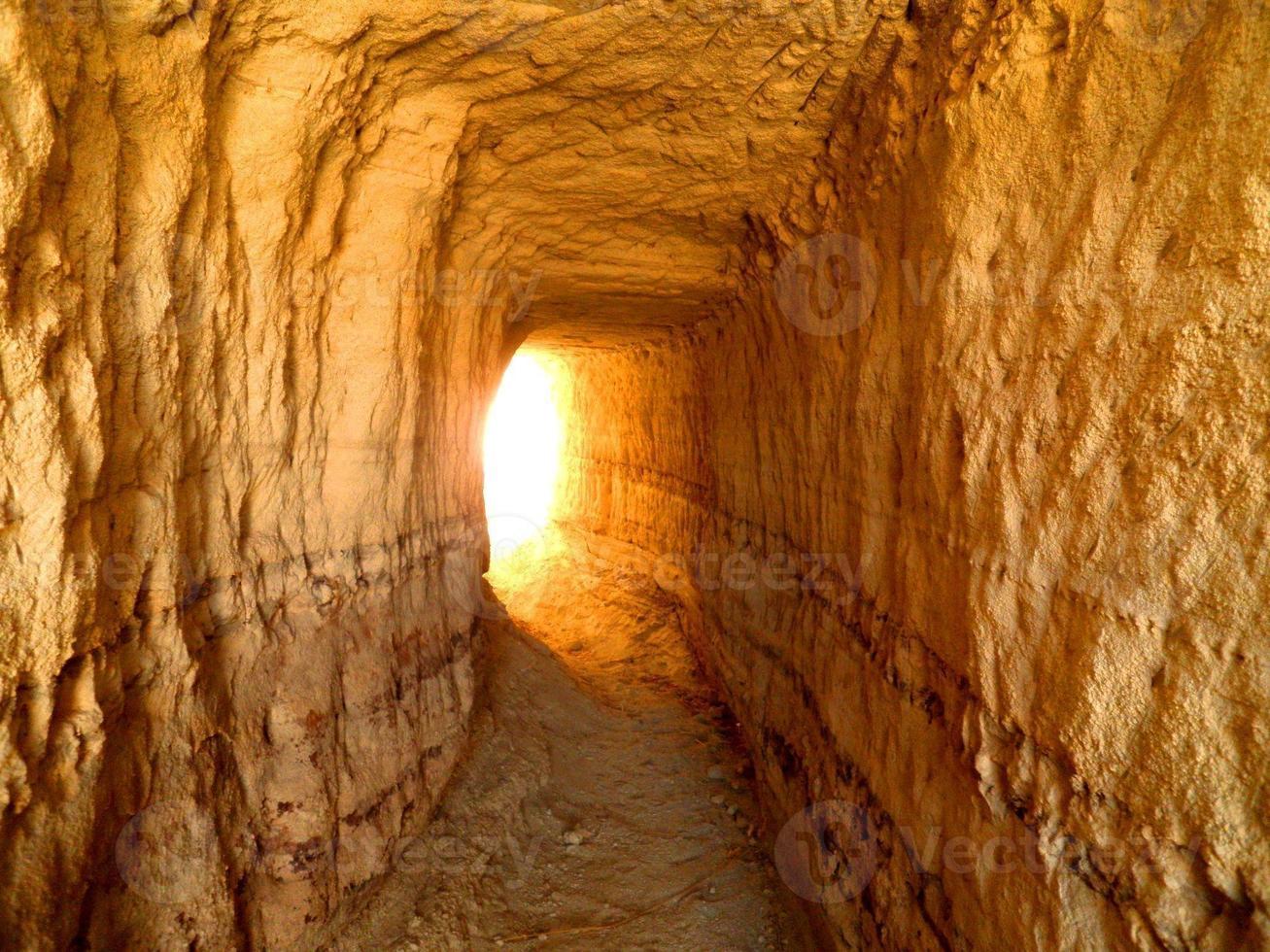 Ende des Tunnels foto