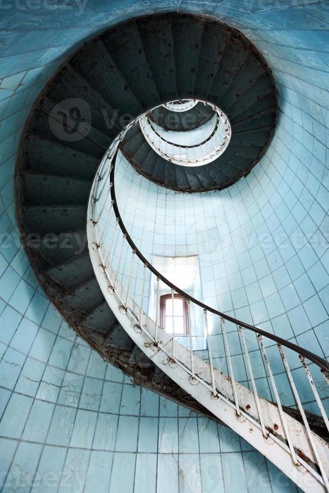Treppe hoch foto