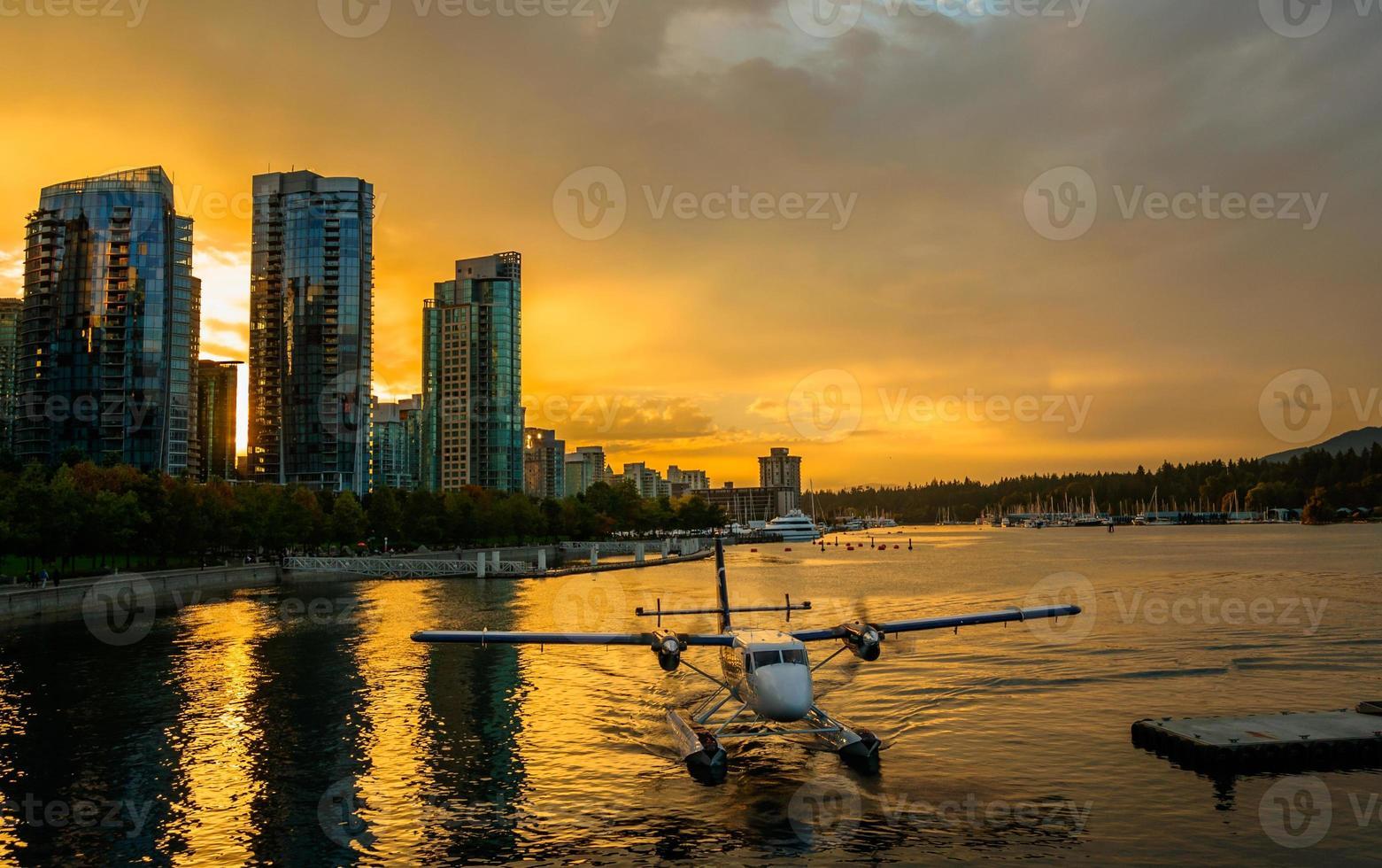 Wasserflugzeug Vancouver foto