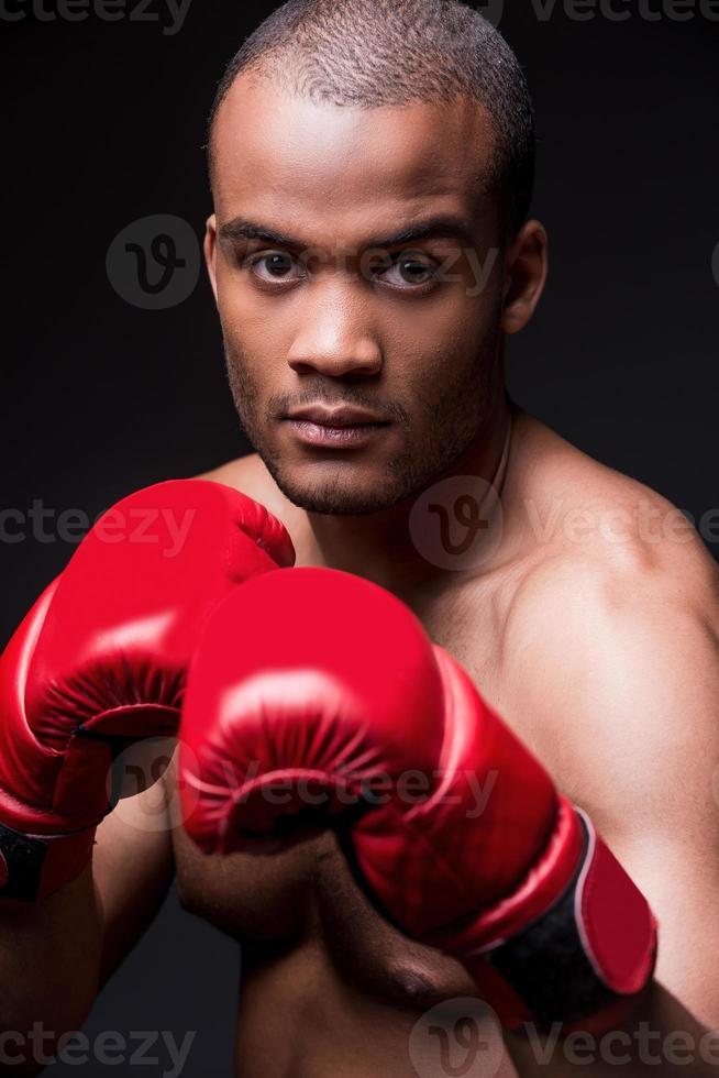 Ich bin bereit zu kämpfen! foto