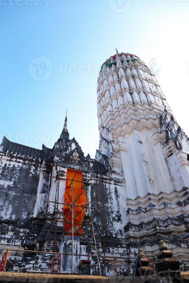 Tempel in Ayuddhaya foto
