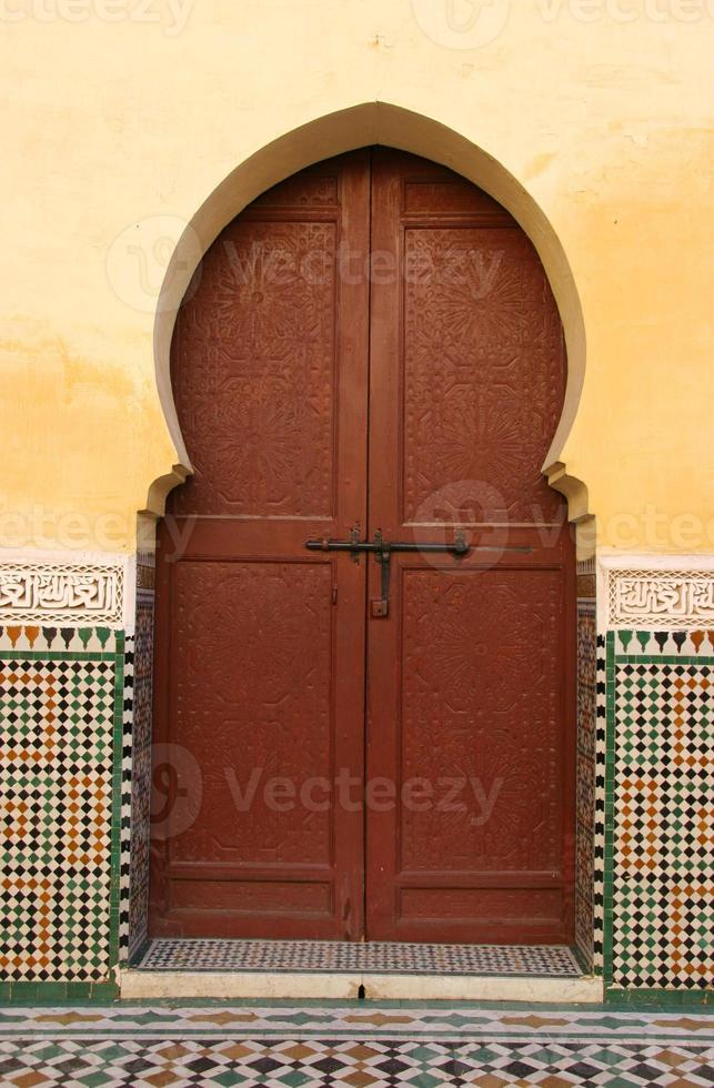 marokkanischer Eingang (2) foto