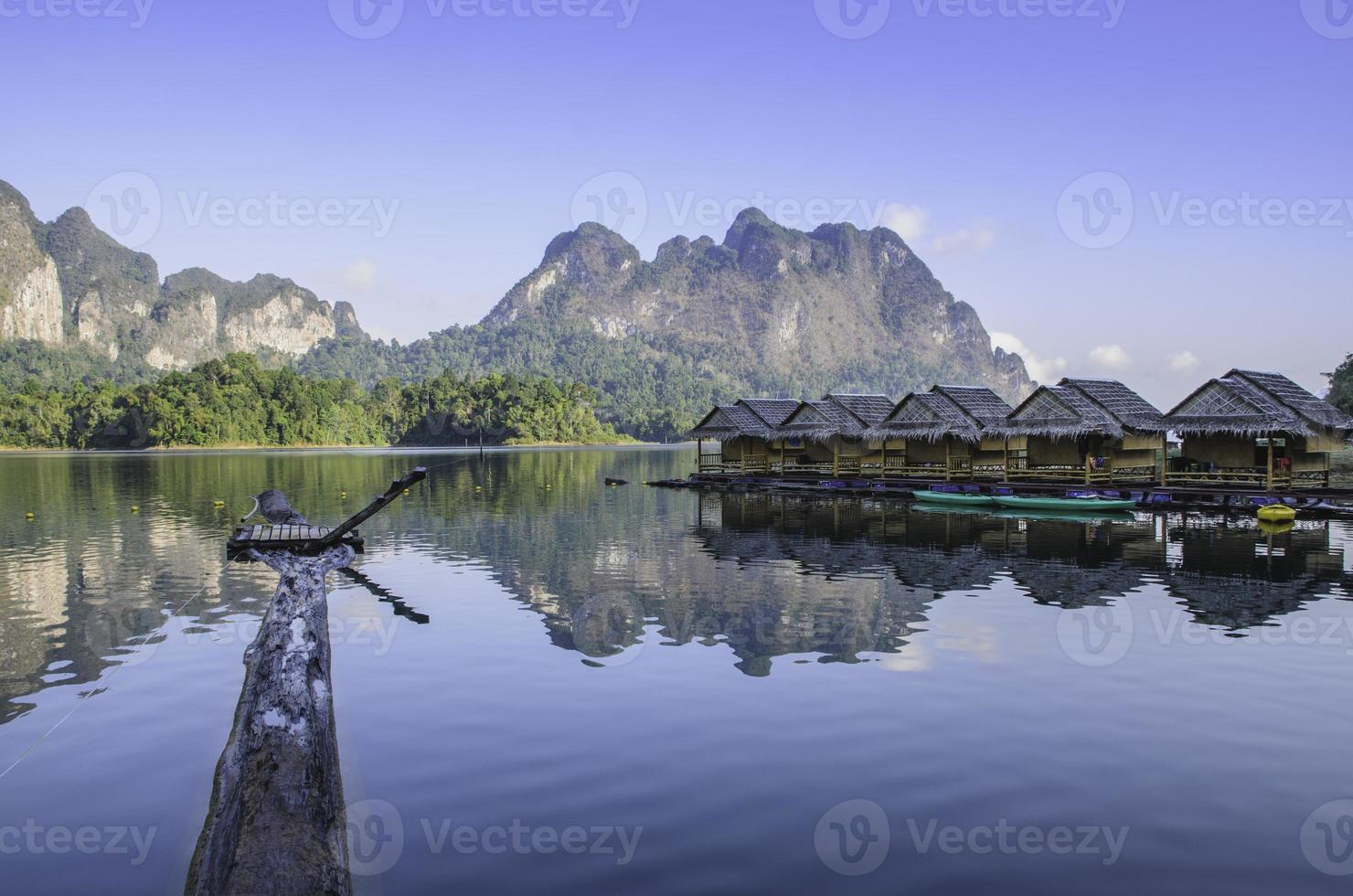 Floß des Berges foto
