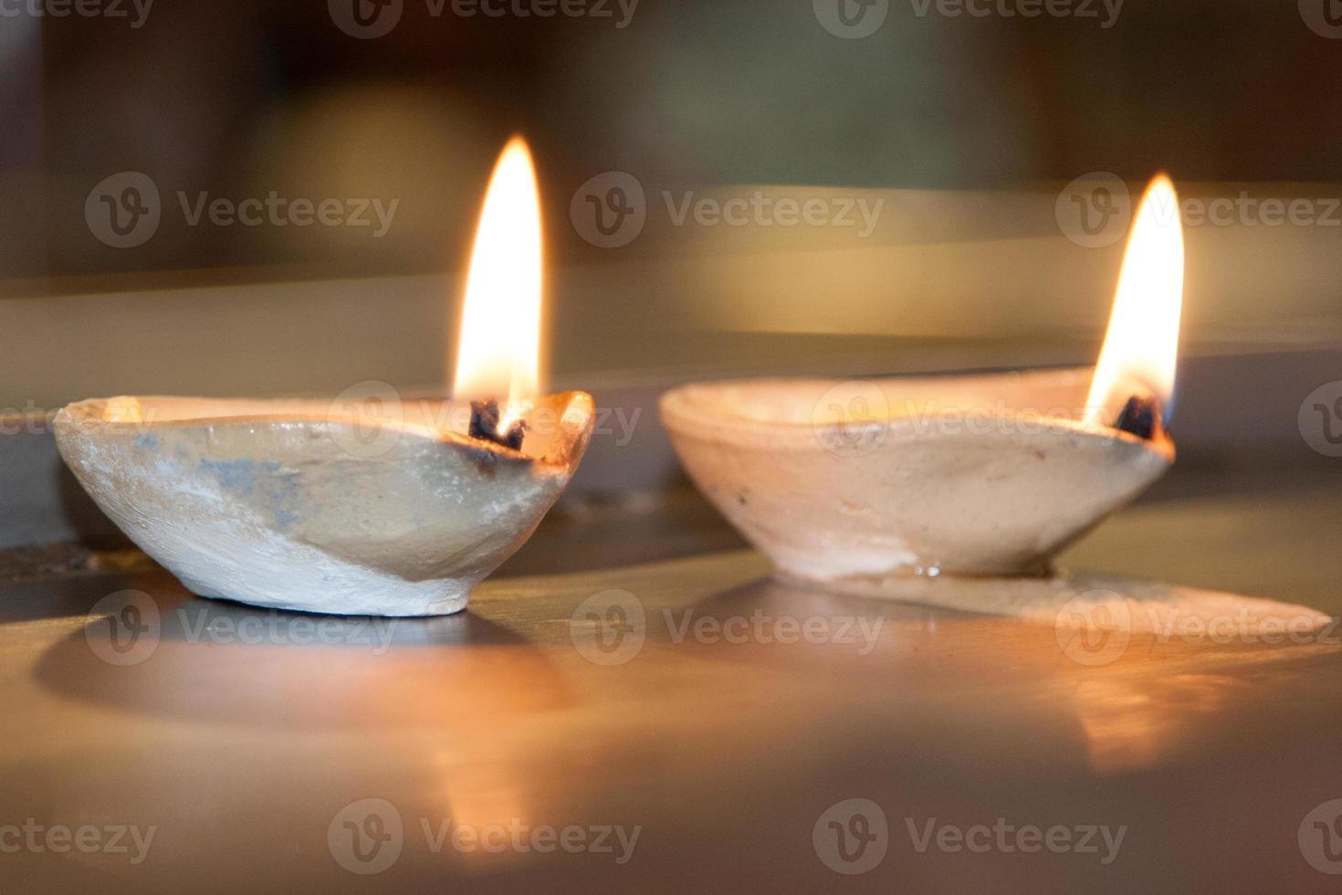 Batu Höhlen indischer Tempel - Kerze foto