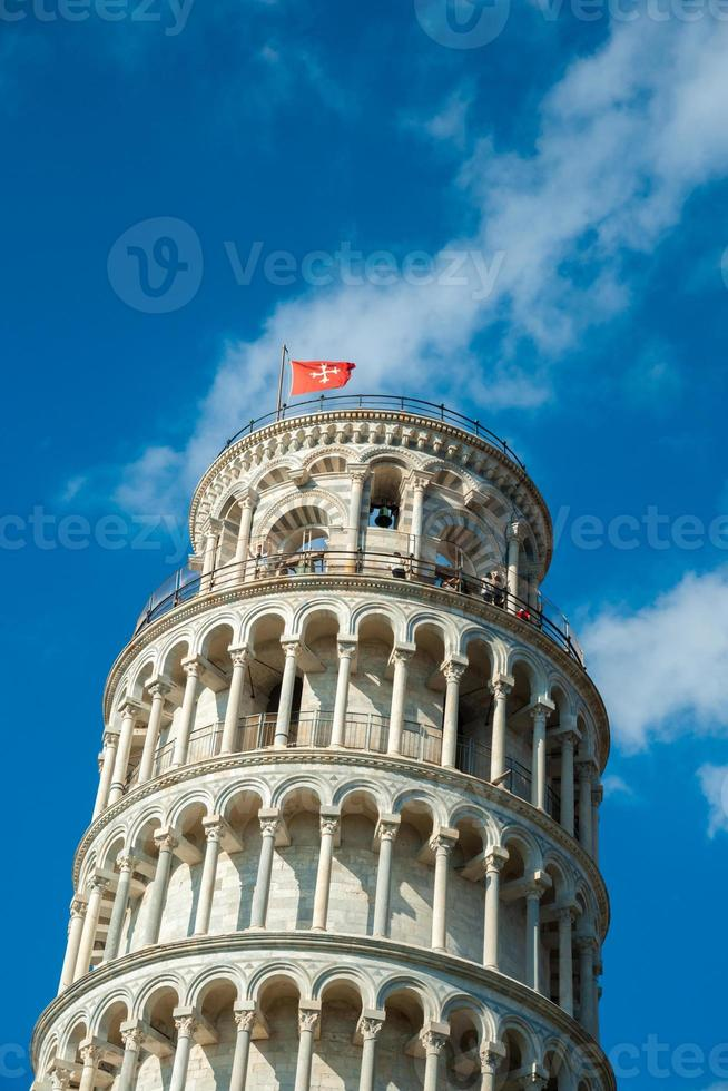 schiefer Turm, Pisa, Italien foto
