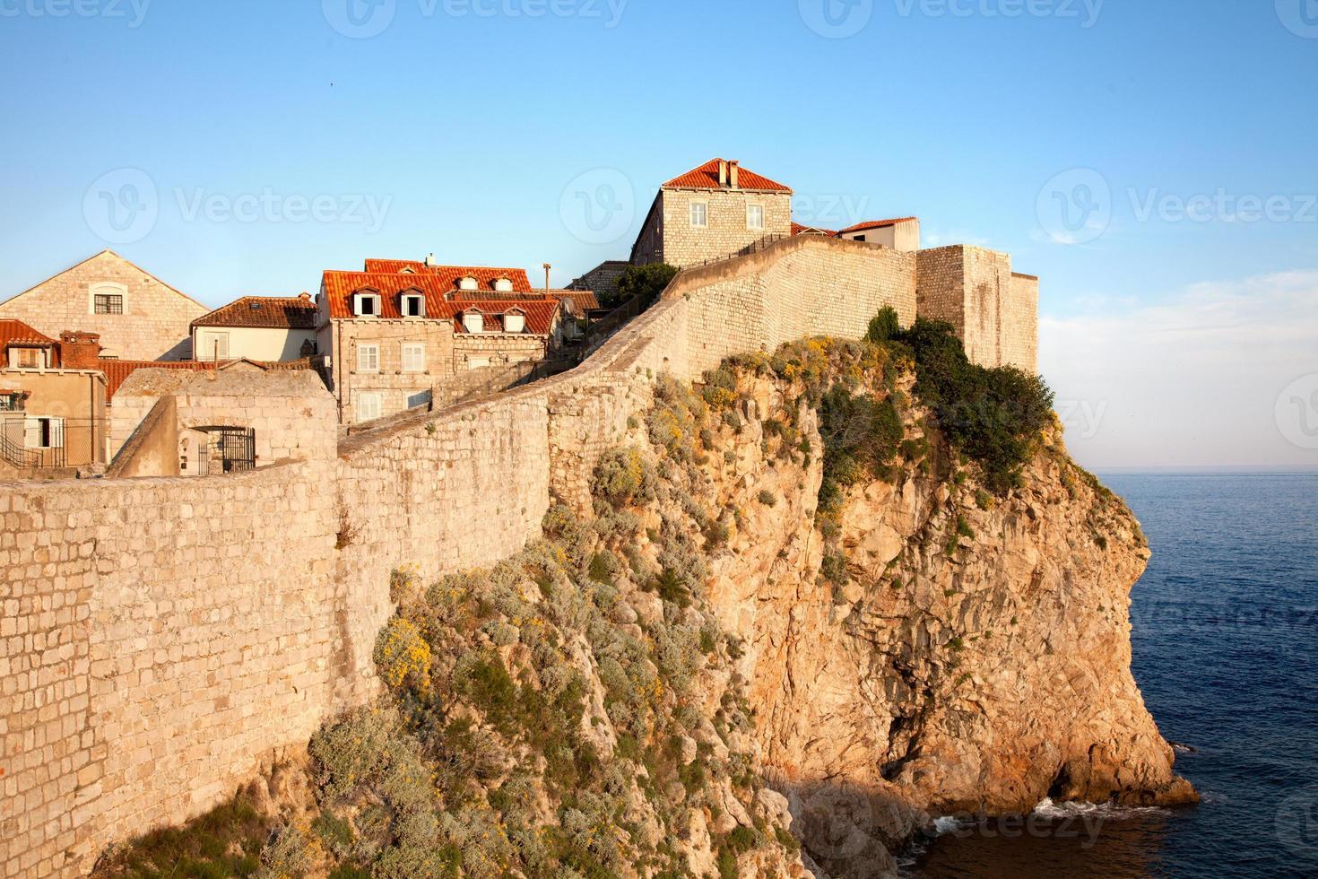 Wand von Dubrovnik foto