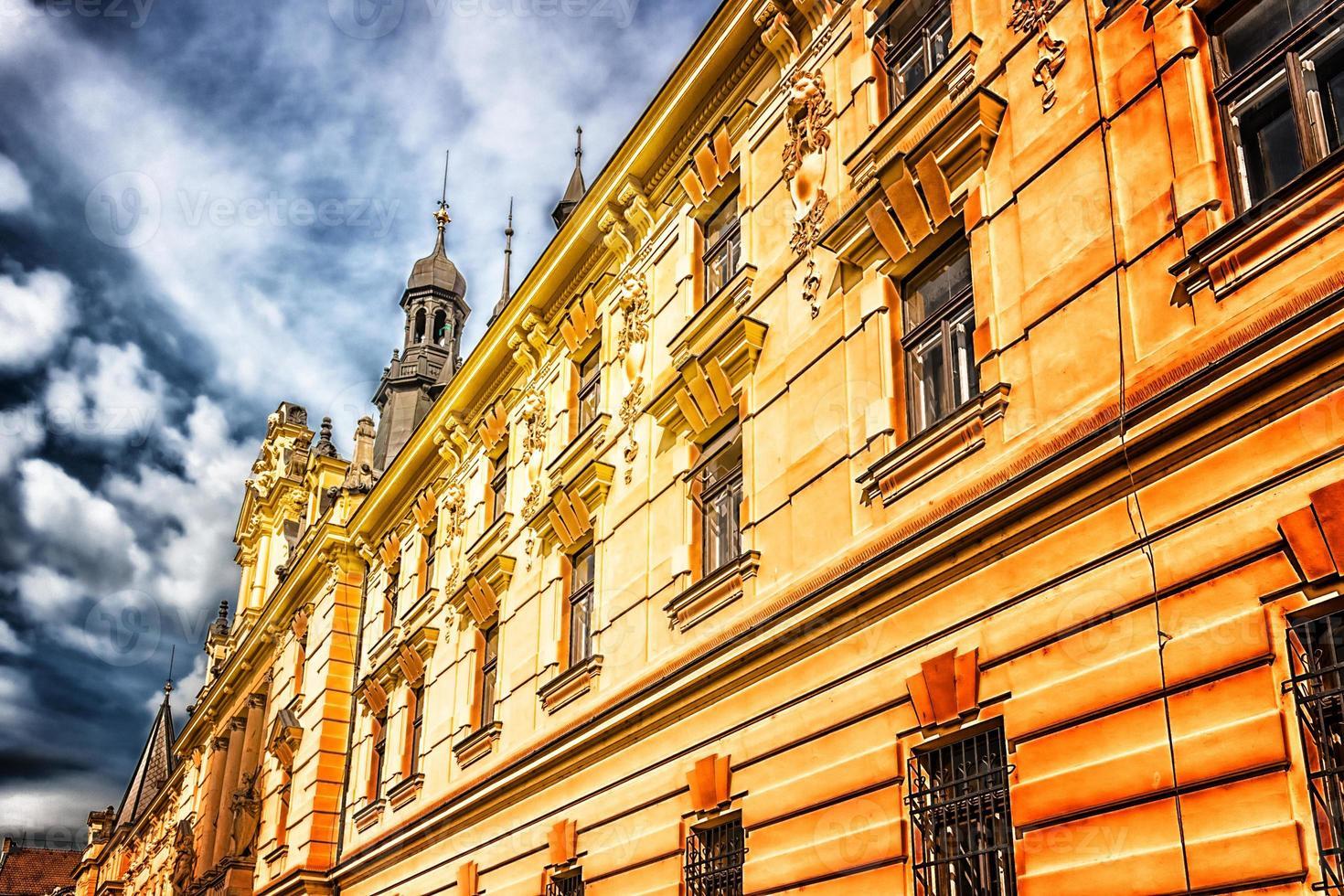 Architektur von Prag foto