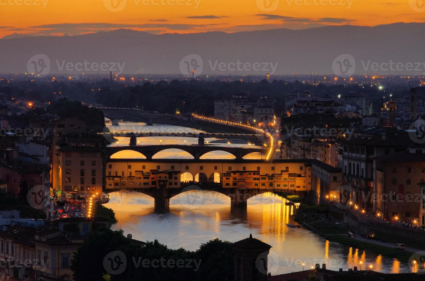 Florenz Brücke foto